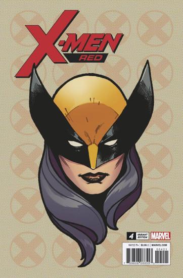 Marvel Comics X-Men Red #4 Comic Book [Charset Headshot Variant]
