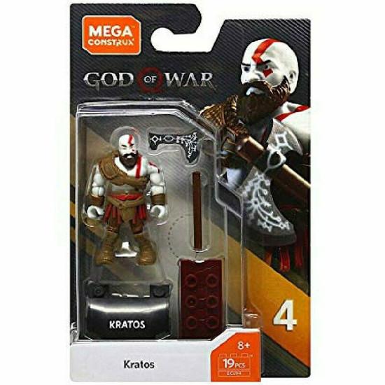 God of War Heroes Series 4 Kratos Mini Figure