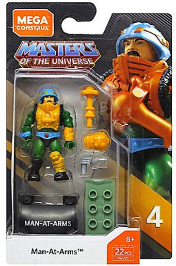 Mega Construx Masters of the Universe Heroes Series 4 Man At Arms Mini Figure
