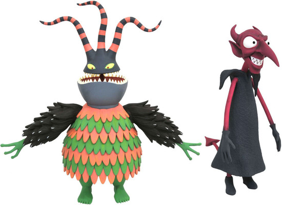 Nightmare Before Christmas Select Series 6 Harlequin & Devil Action Figure 2-Pack