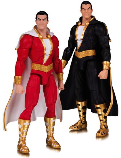DC Essentials Shazam & Black Adam Action Figure 2-Pack