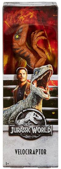 Jurassic World Fallen Kingdom Velociraptor Action Figure [Orange]