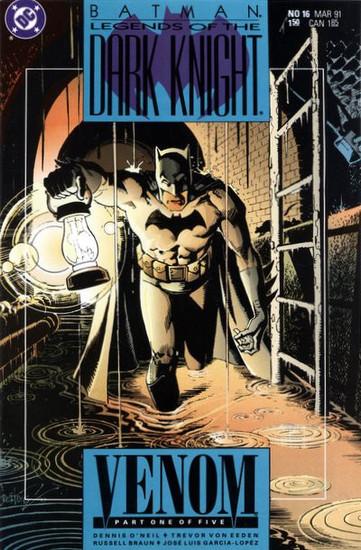 DC Batman: Legends of The Dark Knight #16 Venom Comic Book [Part One]