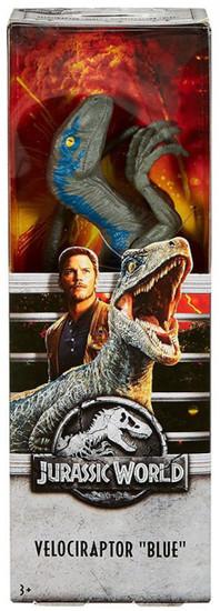 "Jurassic World Fallen Kingdom Velociraptor ""Blue"" Action Figure [12""]"