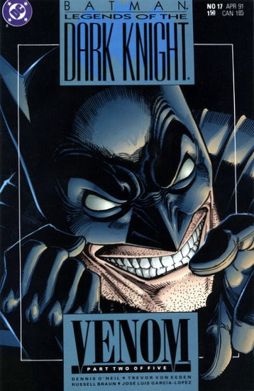 DC Batman: Legends of The Dark Knight #17 Venom Comic Book [Part Two]