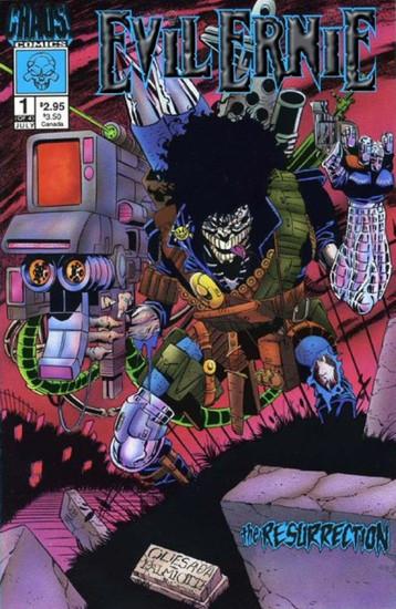 Chaos! Comics Evil Ernie: The Resurrection #1 Comic Book [Silver Foil Logo]