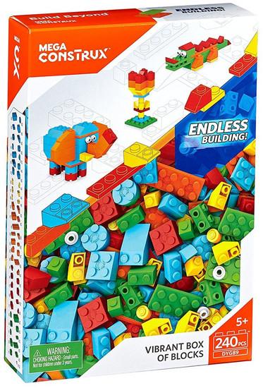 Mega Construx Vibrant Box of Blocks Set