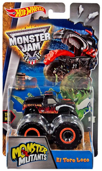 Hot Wheels Monster Jam Monster Mutants El Toro Loco Die-Cast Car