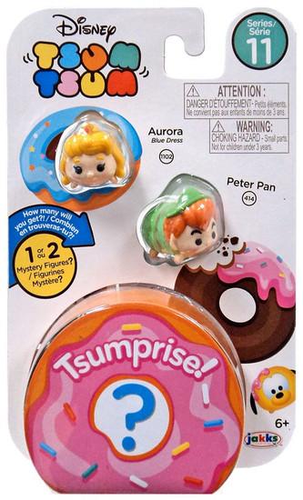 Disney Tsum Tsum Series 11 Aurora & Peter Pan 1-Inch Minifigure 3-Pack
