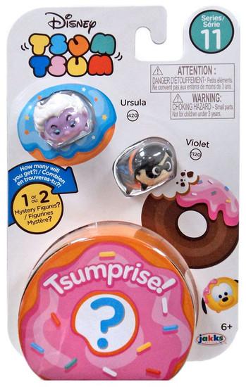 Disney Tsum Tsum Series 11 Ursula & Violet 1-Inch Minifigure 3-Pack
