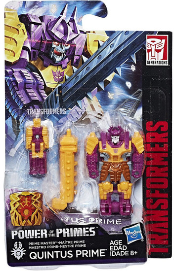 Transformers Generations Power of the Primes Quintus Prime Master Action Figure [Bludgeon]