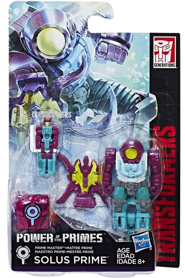 Transformers Generations Power of the Primes Solus Prime Master Action Figure [Octopunch]