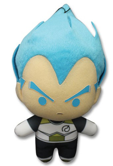 Dragon Ball Super Super Saiyan Blue Vegeta 6.5-Inch Plush