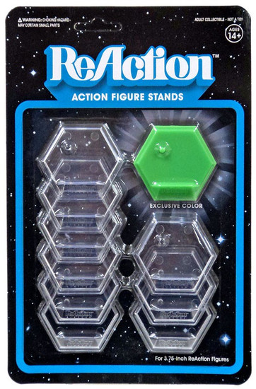 ReAction Earth Carpet Action Figure Stand 10-Pack [Green]