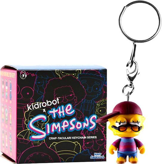 The Simpsons Vinyl Keychain CRAP-TACULAR! 3-Inch Mystery Pack [1 RANDOM Figure]