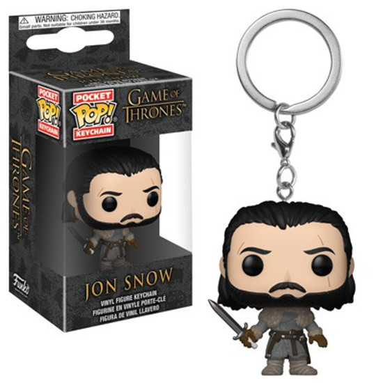 Funko Game of Thrones Pocket POP! TV Jon Snow Keychain [Beyond the Wall]