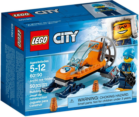 LEGO City Arctic Ice Glider Set #60190