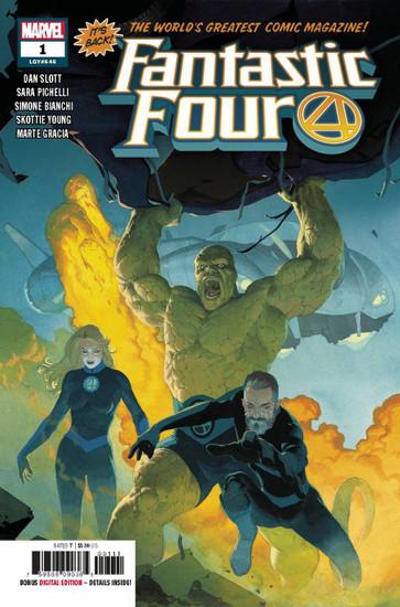 Marvel Comics Fantastic Four #1 Comic Book