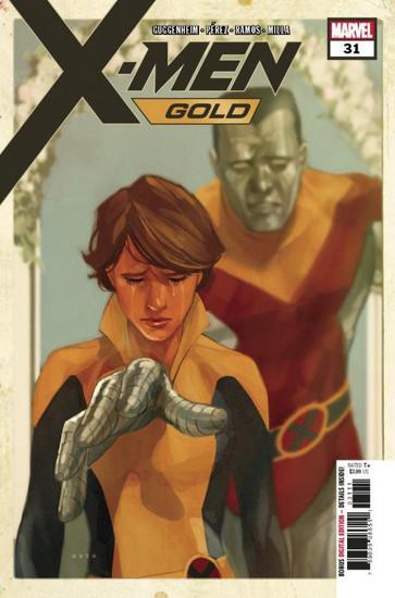 Marvel Comics X-Men Gold #31 Comic Book