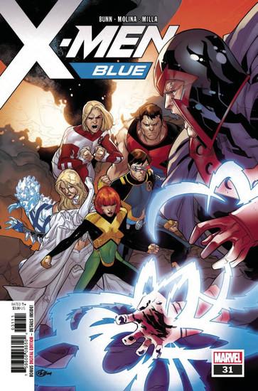 Marvel Comics X-Men Blue #31 Comic Book