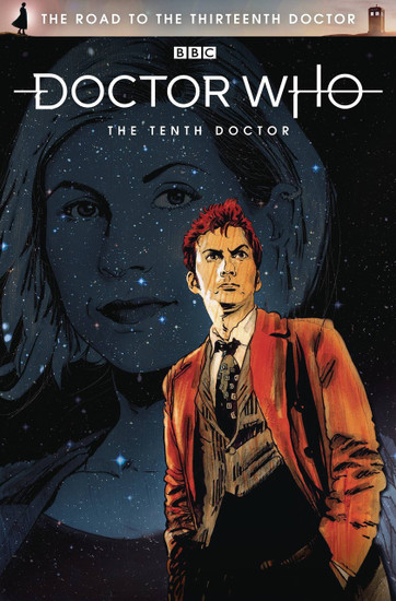 Titan Comics Doctor Who The Road to The Thirteenth Doctor #1 The Tenth Doctor Special Comic Book