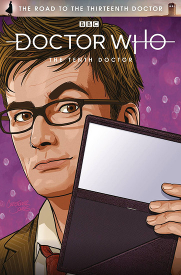 Titan Comics Doctor Who The Road to The Thirteenth Doctor #1 The Tenth Doctor Special Comic Book [Cover C]