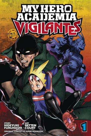 My Hero Academia Vigilantes Volume 1 Manga Trade Paperback