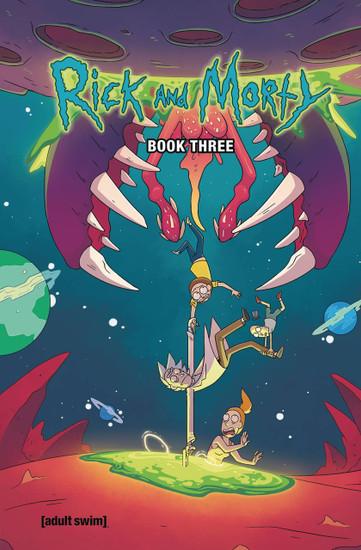 Oni Press Rick & Morty Book Three Hard Cover Comic Book