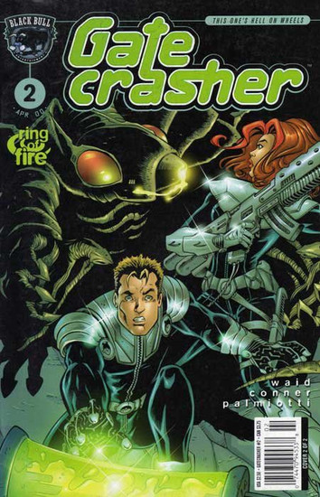 Black Bull Entertainment Vol. 1 Gate Crasher #2 Comic Book [Variant Cover]
