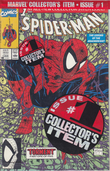 Marvel Spider-Man #1 Comic Book [Polybag]
