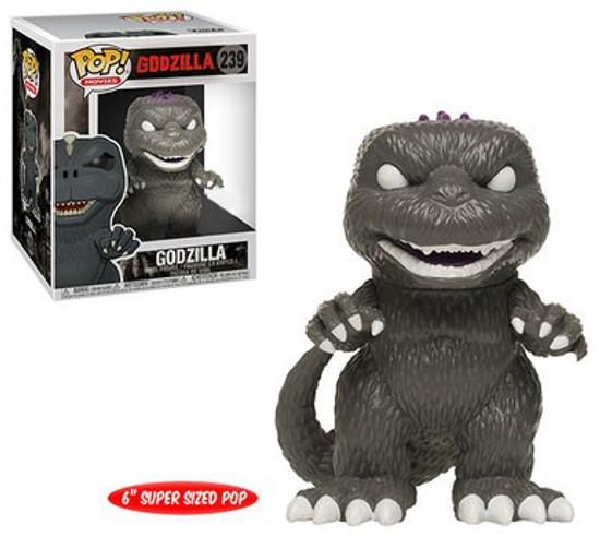 Funko POP! Movies Godzilla Exclusive 6-Inch Vinyl Figure [Black & White, Super-Sized]