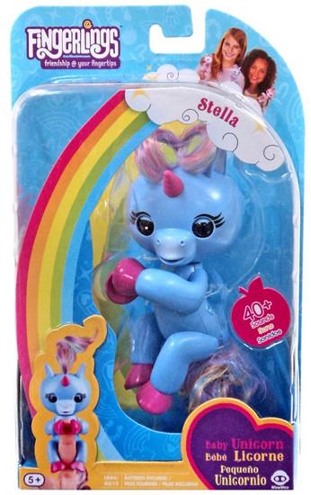 Fingerlings Baby Unicorn Stella Figure