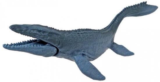 Jurassic World Matchbox Battle Damage Mini Dinosaur Figure Mosasaurus 2-Inch Mini Figure [Loose]
