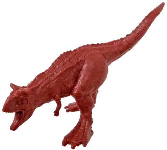 Jurassic World Matchbox Battle Damage Mini Dinosaur Figure Carnotaurus 2-Inch Mini Figure [Loose]