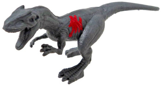 Jurassic World Matchbox Battle Damage Mini Dinosaur Figure Allosaurus 2-Inch Mini Figure [Loose]