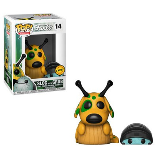Funko Wetmore Forest POP! Monsters Slog with Grub Vinyl Figure #14 [Chase Version]