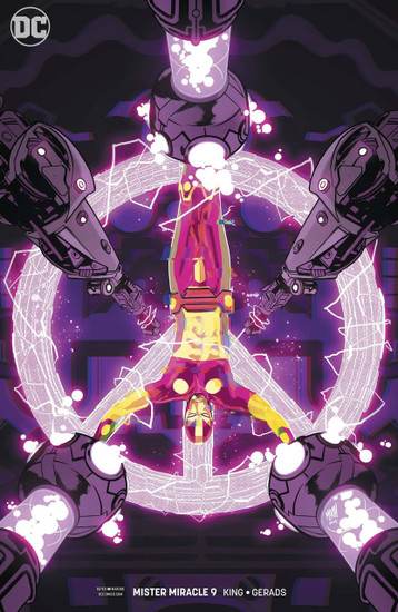 DC Mister Miracle #9 Comic Book [Variant]