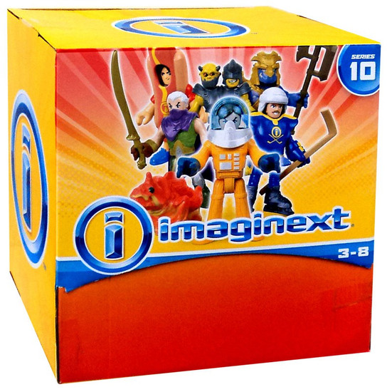 Fisher Price Imaginext Series 10 Collectible Figure Mystery Box [36 Packs]