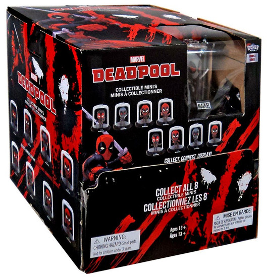 Marvel Domez Series 2 Deadpool Mystery Box [24 Packs]