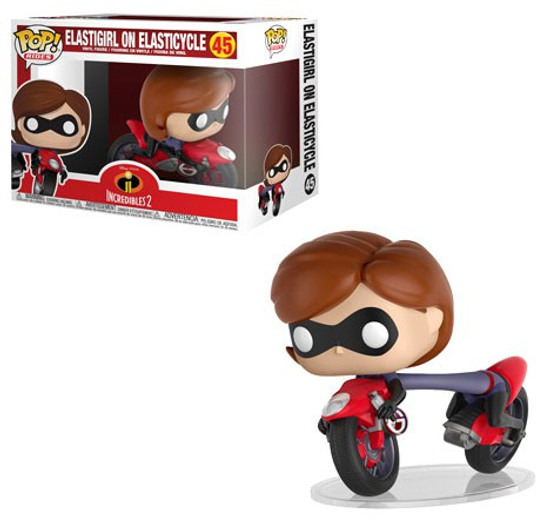 Funko Disney / Pixar Incredibles 2 POP! Disney Elastigirl on Elasticycle Vinyl Figure #45