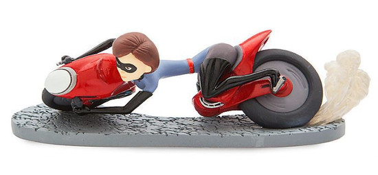 Disney / Pixar Incredibles 2 Elastigirl 5-Inch PVC Figurine [Motorcycle Loose]