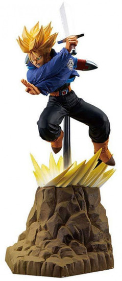 Dragon Ball Z Absolute Perfection Trunks 5.9-Inch Collectible PVC Figure