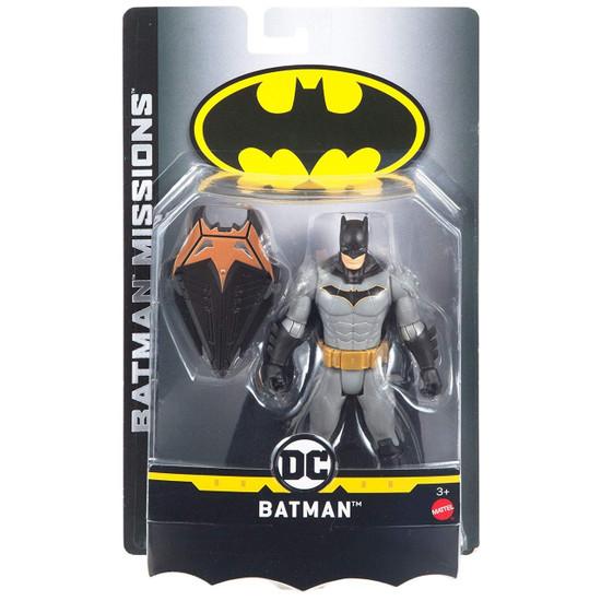 """DC Batman Missions Batman Action Figure [6""""]"""
