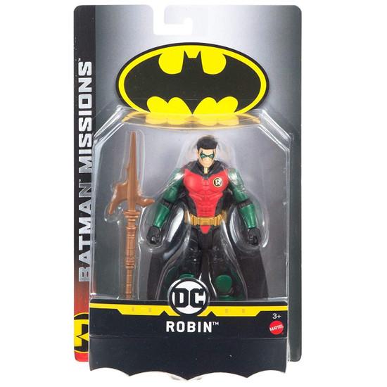 DC Batman Missions Robin Action Figure