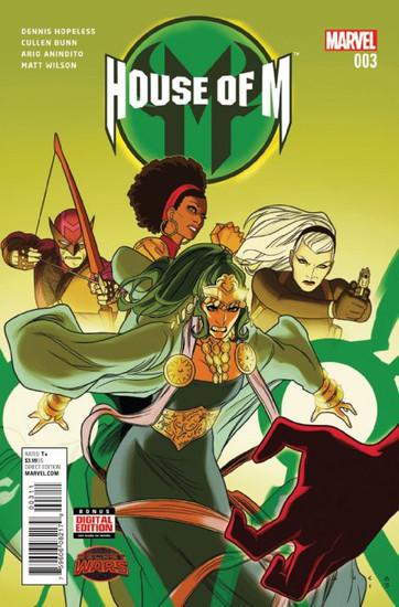 Marvel Comics House of M Vol. 2 #3 Comic Book [Secret Wars]