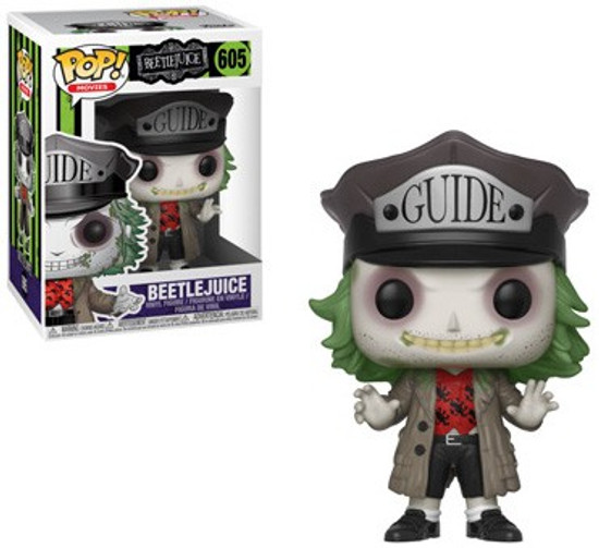 Funko POP! Movies Beetlejuice Vinyl Figure #605 [Guide Hat]