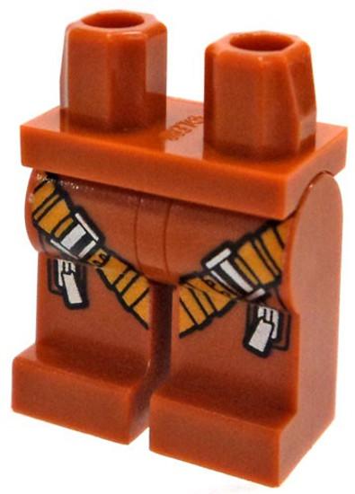 LEGO Dark Orange Legs with Harness Loose Legs [Loose]