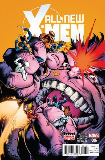 Marvel Comics All-New X-Men #6 Comic Book