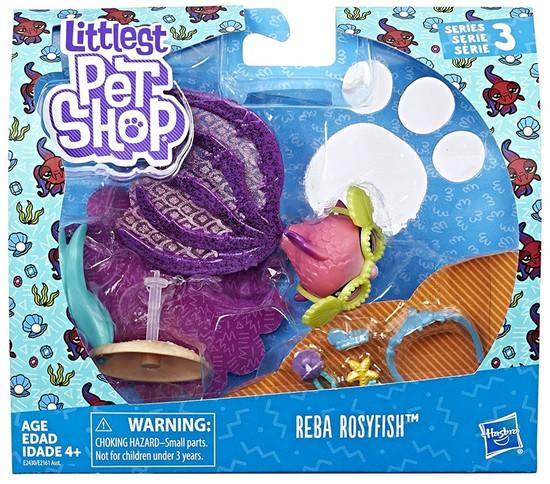 Littlest Pet Shop Premium Pet Reba Rosyfish Figure Pack