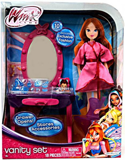 Winx Club Vanity Set 11.5-Inch Doll Playset [Damaged Package]